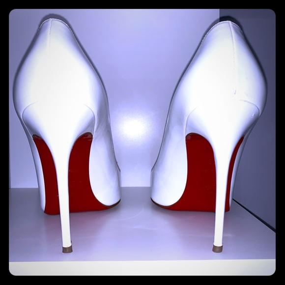 White Red Bottoms Heels | Poshmark
